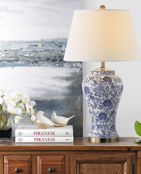 Brushed Ceramic Table Lamp (Set of 2), TBL4141