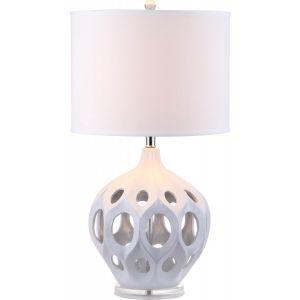 Cutout Ceramic Table Lamp, LIT4040
