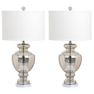 Mercury Glass Table Lamp (Set of 2), LIT4052