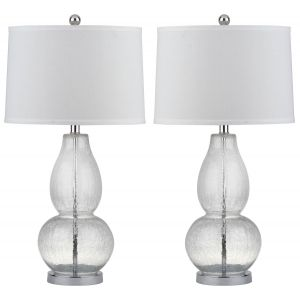 Double Gourd Glass Table Lamp (Set of 2), LIT4155